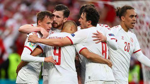 Дания се класира със стил за фазата на елиминациите - 4:1 срещу Русия