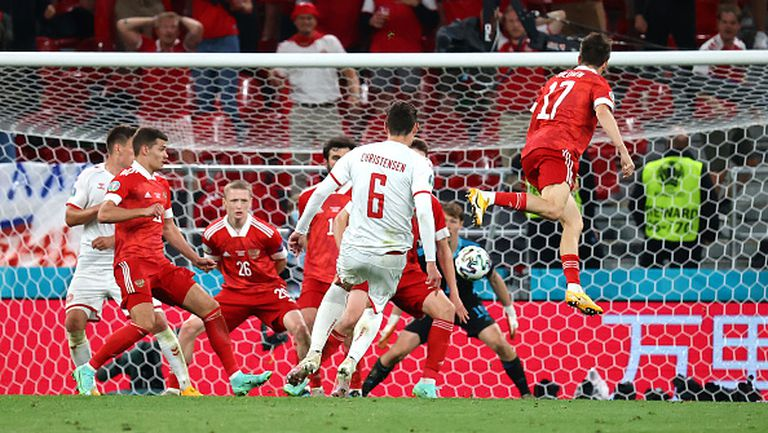 Кристенсен завърши продължителна атака на Дания за 3:1