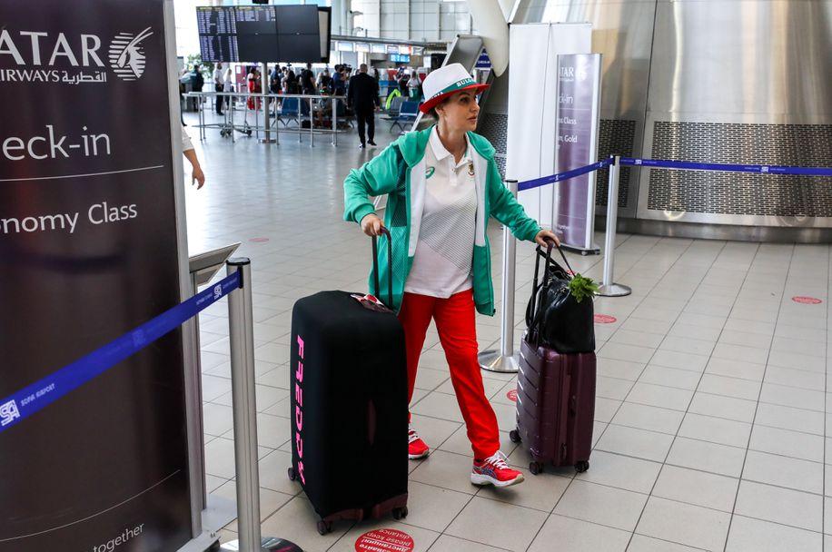 Момичетата от художествената гимнастика заминават за Токио