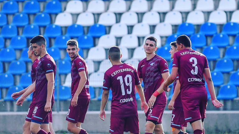 Вторият отбор на Септември (Сф) записа равенство срещу Хасково