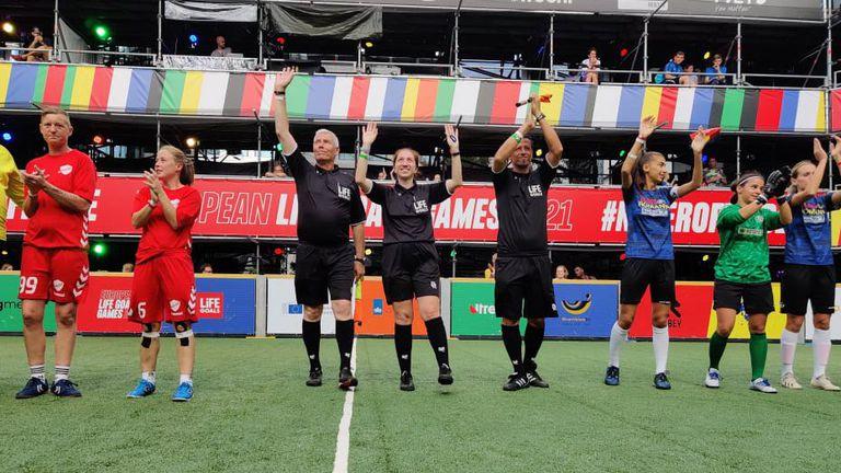 Български рефер ръководи финал на Европейско първенство за хора в неравностойно положение
