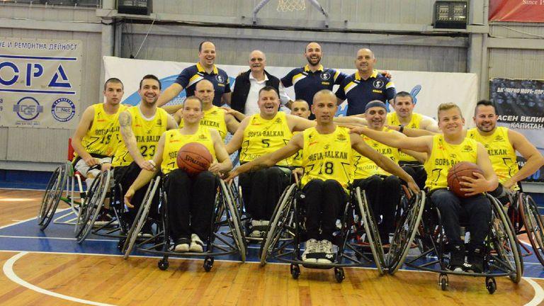 Шампионът по баскетбол на колички организира международен турнир в София