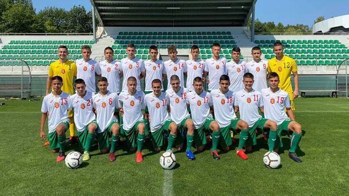 България (U16) отстъпи на Сърбия (U16) в приятелска среща