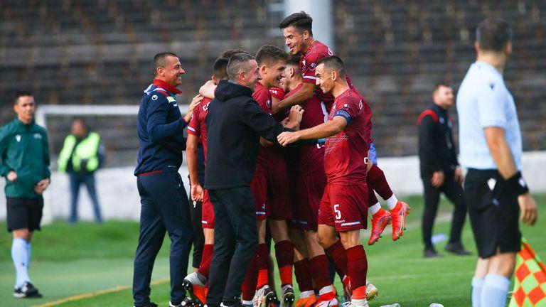Септември (София) - Рейнджърс в младежката Шампионска лига