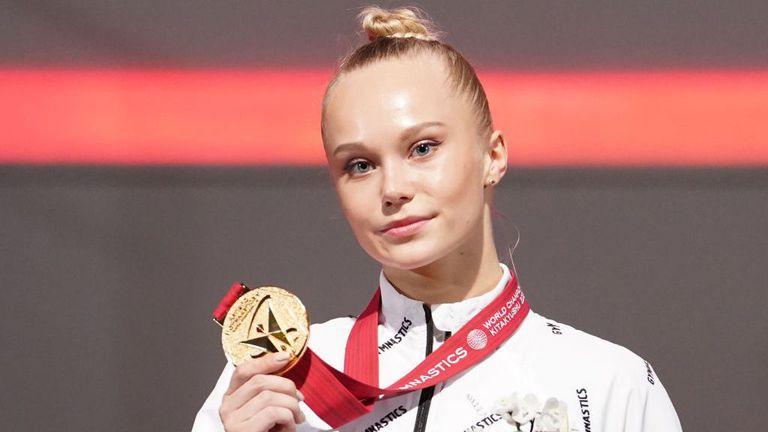 Русия с първо злато в многобоя при жените от световно от 2010 година насам