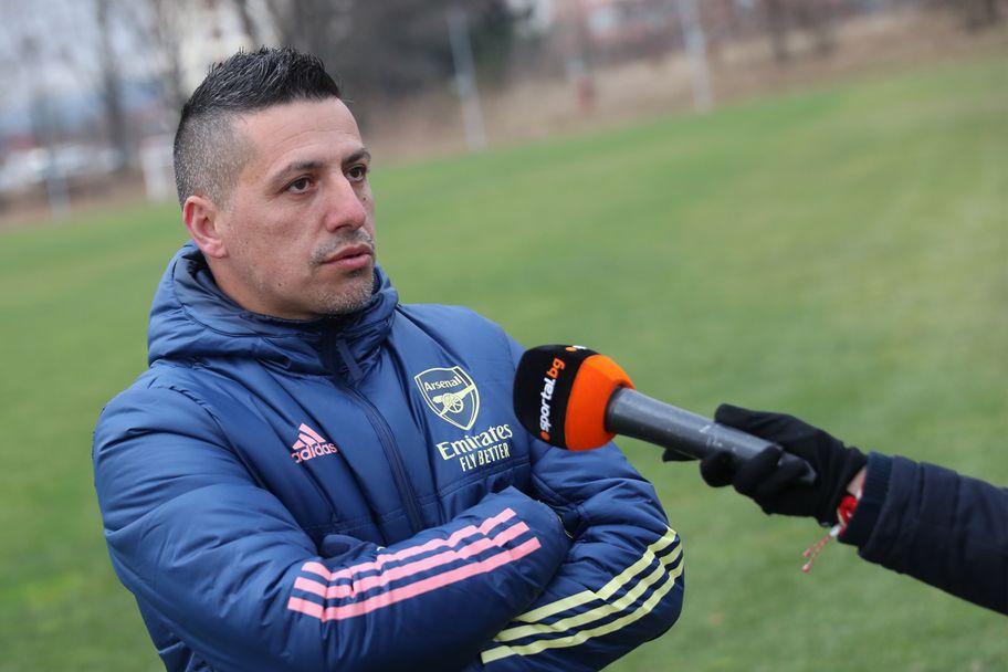 Един българин в академията на Арсенал: Историята на Красимир Корсачки (видео)