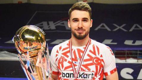 Феноменален Мартин Атанасов заби 30 точки и донесе титлата на Зиратбанк в Турция (видео + снимки) 🏐