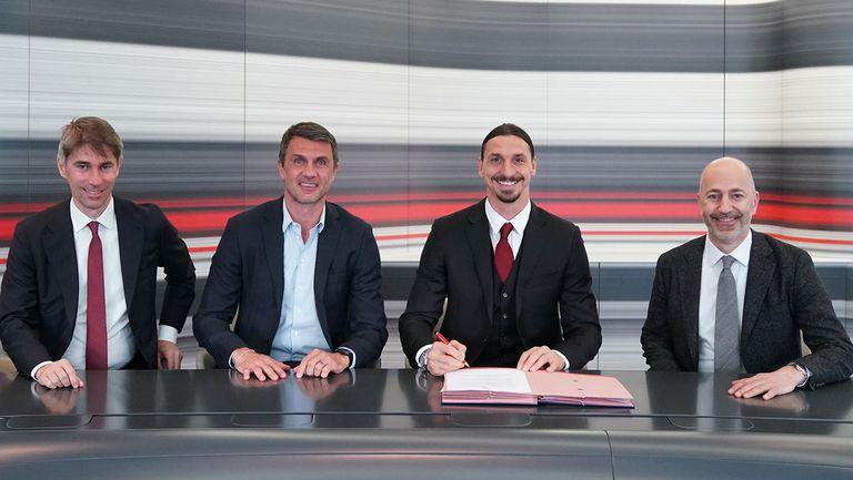 Официално: Ибра преподписа с Милан