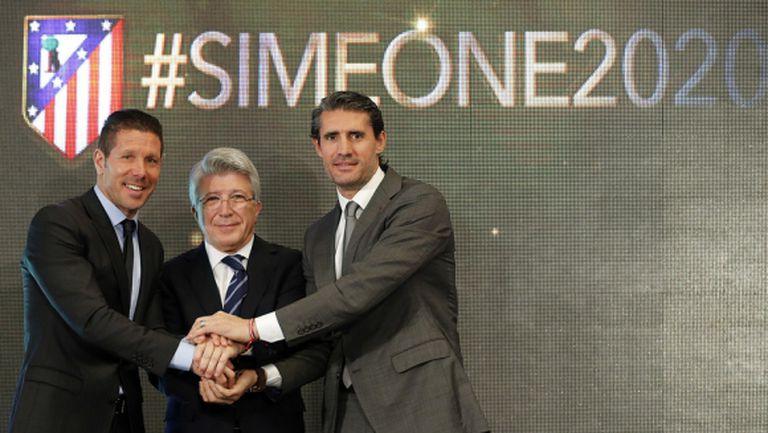 Официално: Симеоне подписа новия договор с Атлетико
