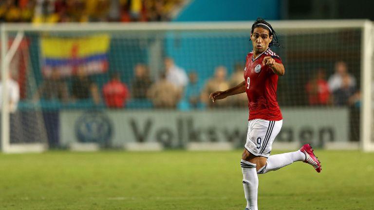 Фалкао избухна с два гола за Колумбия