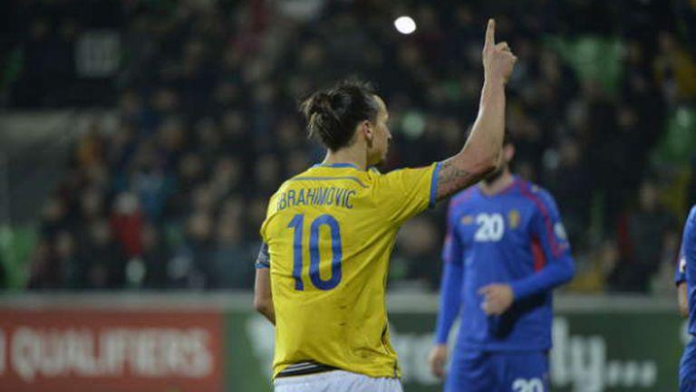 Груба вратарска грешка и дузпа подариха победата на Швеция в Кишинев (видео)