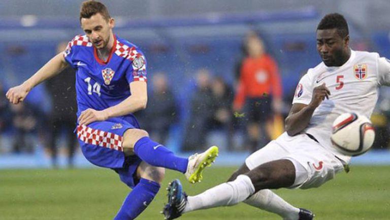 Хърватия разгроми Норвегия и държи първото място в нашата група (видео)
