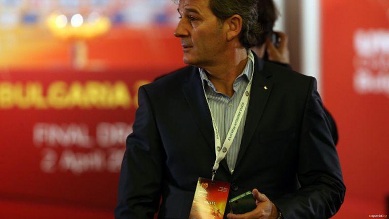 Емил Костадинов: Имаме качествени млади футболисти