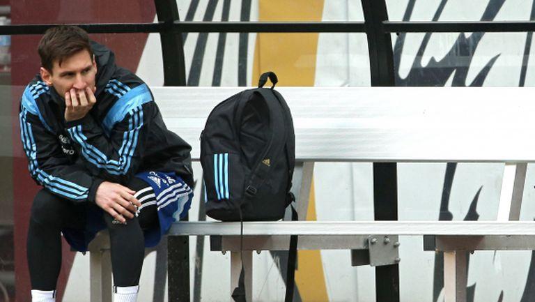 Меси е в групата на Барса за мача във Виго