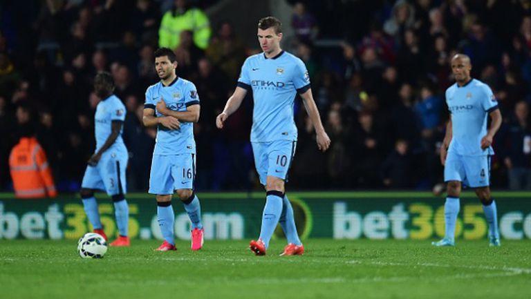 """Сити сдаде титлата, Арсенал и Юнайтед вече са пред """"гражданите"""" (видео)"""