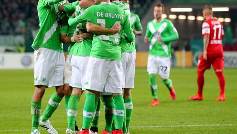 Волфсбург на полуфинал за Купата (видео)