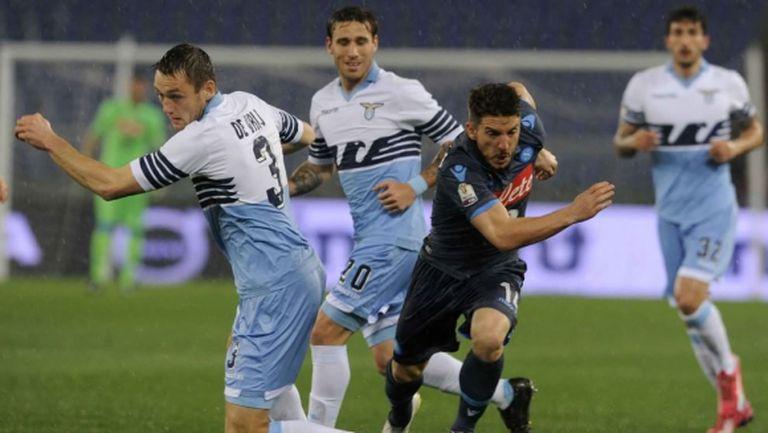 Наполи и Лацио излизат за 20-и път за Купата