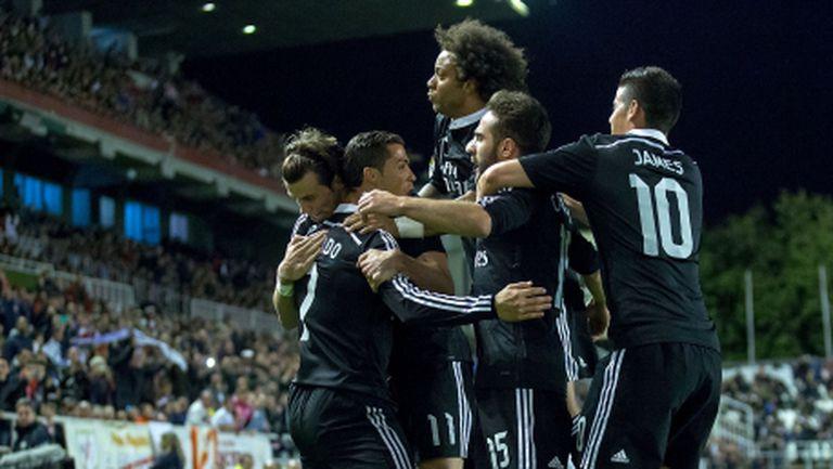 Реал Мадрид се измъкна във Вайекас (видео + галерия)