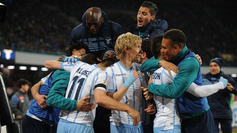 Лацио - Ювентус е финалът за Купата на Италия