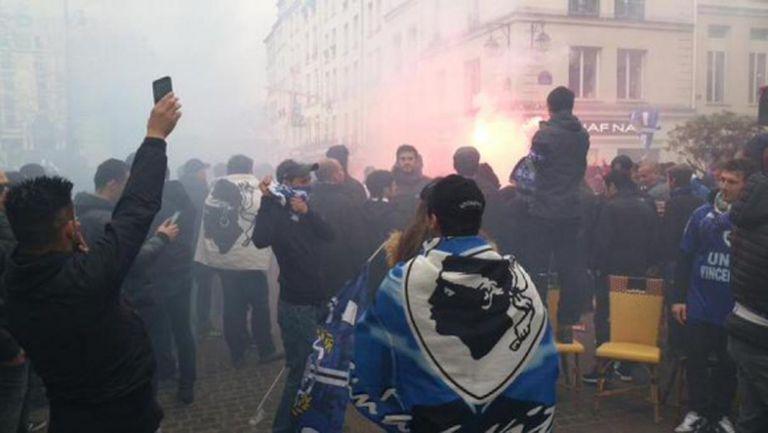 Безредици в Париж преди ПСЖ - Бастия