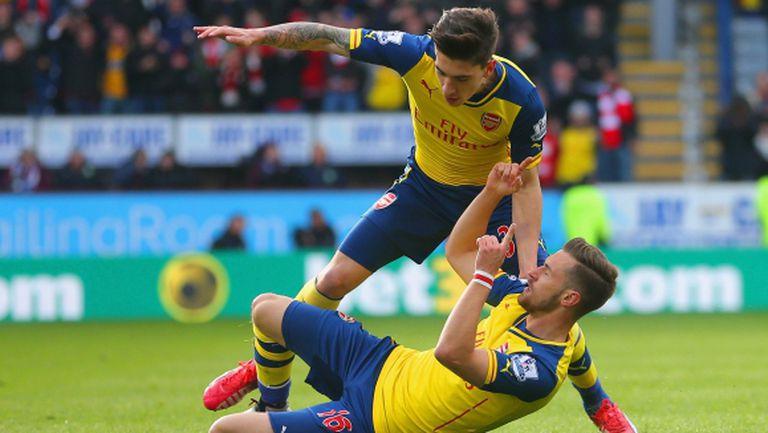 Арсенал на 4 точки от върха след осма поредна победа