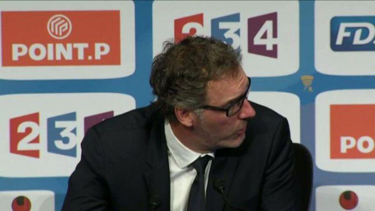 Лоран Блан не отговори на въпрос на Canal +