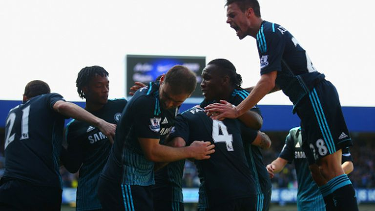 Челси направи още една голяма крачка към титлата (видео)