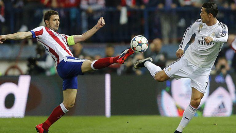 Атлетико и Реал оставиха всичко за реванша (видео + галерия)