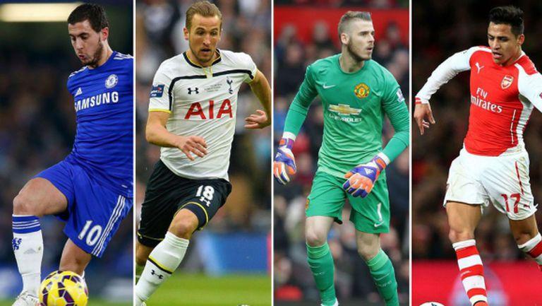 Ето номинираните за Футболист на годината в Англия