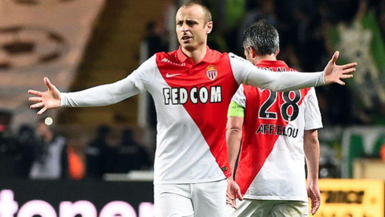 Монако с Бербатов изпусна победата срещу Рен в края