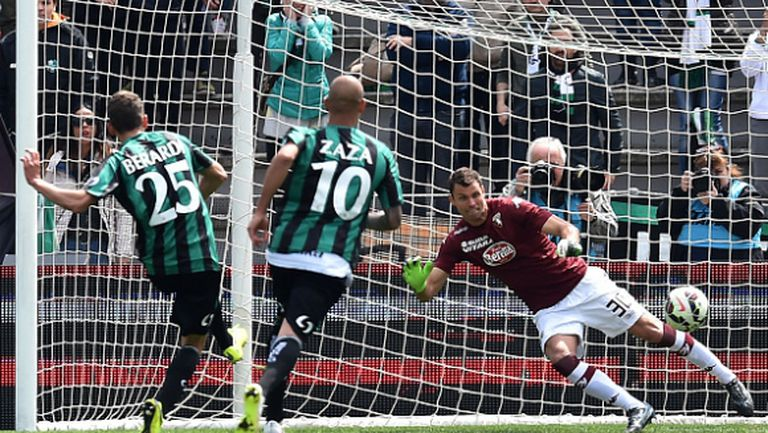 Торино изгуби две точки срещу Сасуоло