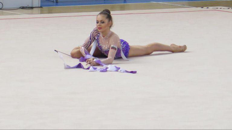 Мария Матева шампионка в многобоя на държавното по художествена гимнастика
