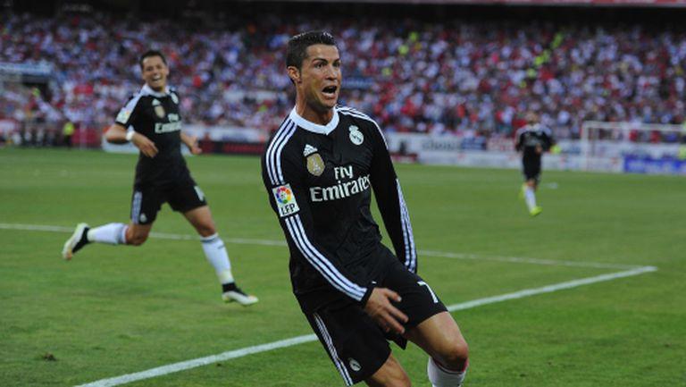 Голям Кристиано, Реал Мадрид запази интригата, печелейки най-трудния си мач (видео + галерия)