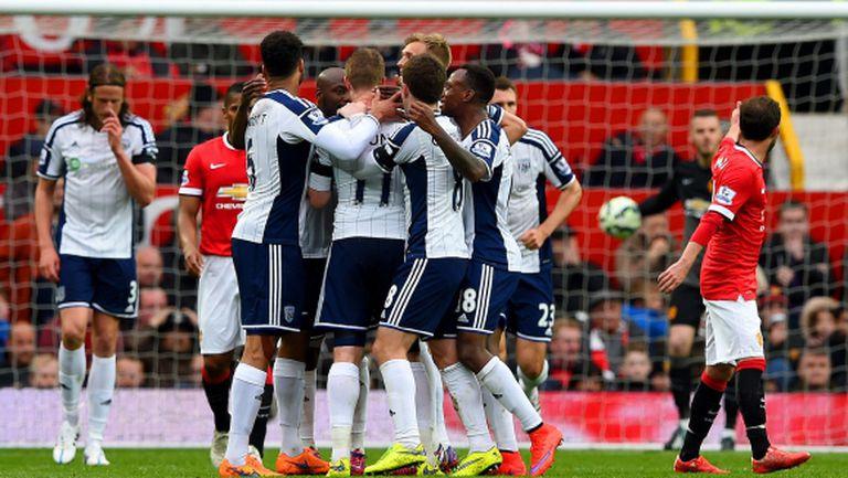 Огромен малшанс и страхотен вратар докараха трета поредна загуба на Ман Юнайтед (видео)