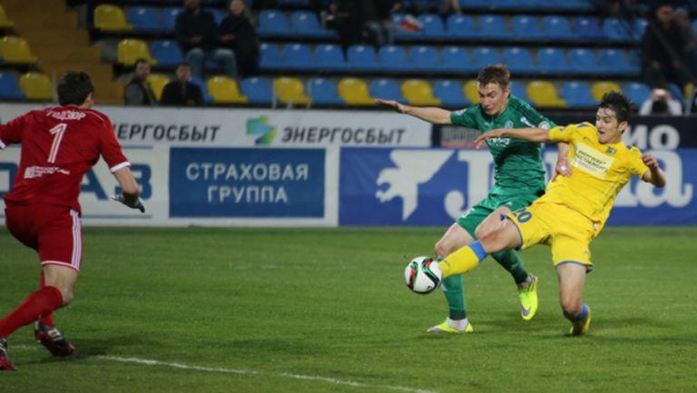 Терек се спаси, Ростов ще трепери до последно (видео)