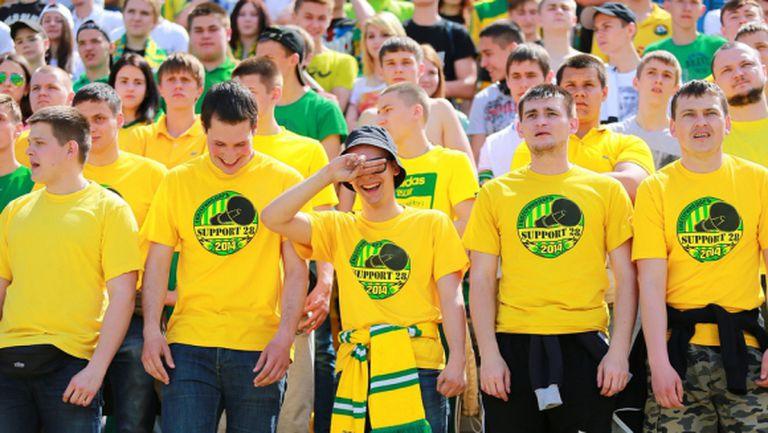 Феновете на Кубан плашат треньора с хвърляне във Волга
