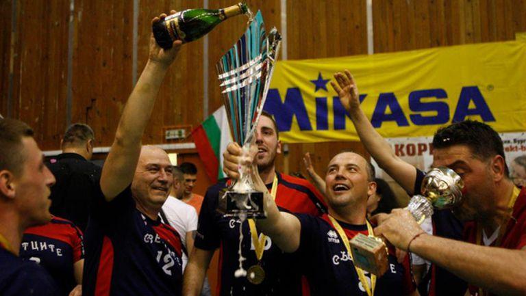 Шампионът на Volley Mania ще играе срещу Марек
