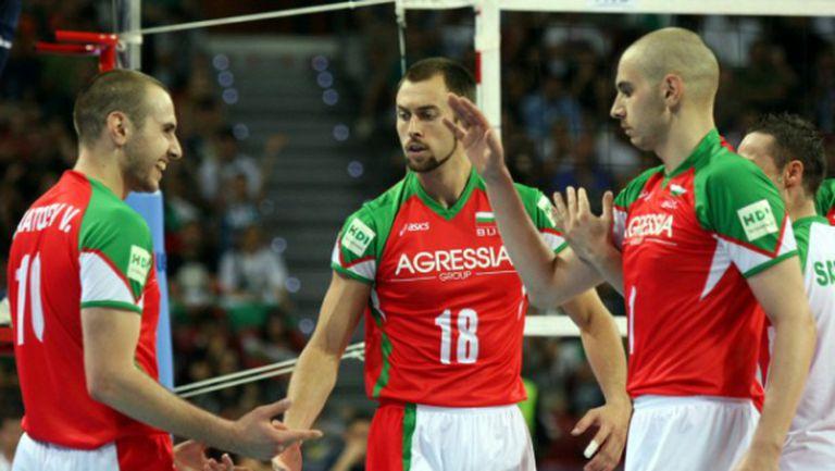 България с Тодор Алексиев, Ники Николов и близнаците Братоеви в Баку 2015