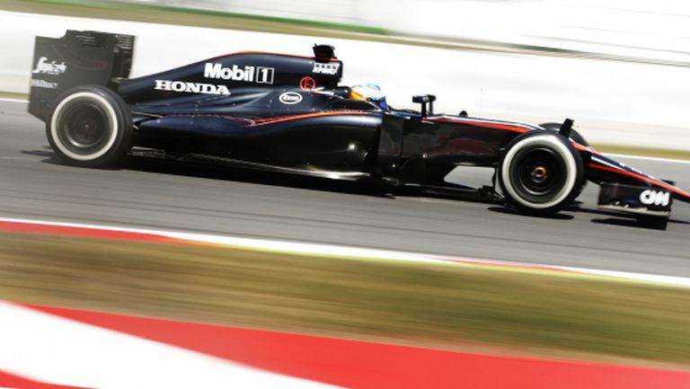 Хонда обещават на Макларън подиум до средата на сезона