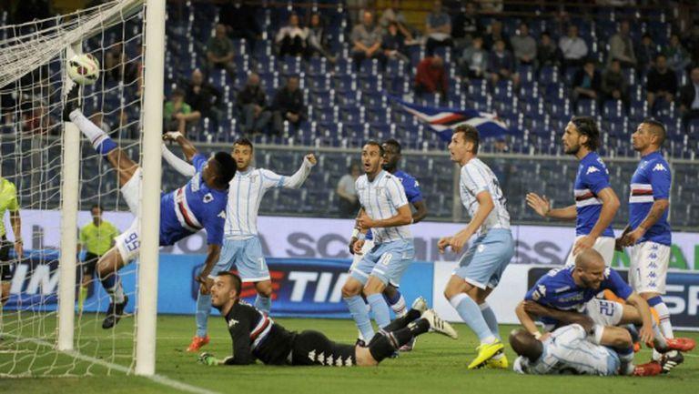 Дебютен гол на аржентинец зарадва Лацио преди мачовете на истината