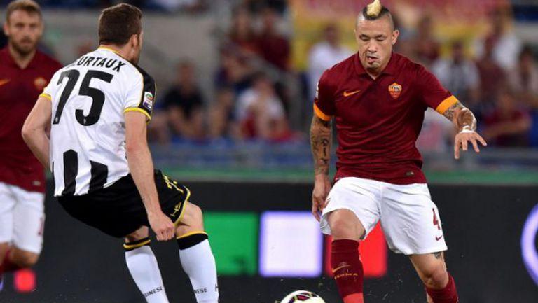 Рома си върна второто място с важен обрат срещу Удинезе (видео)