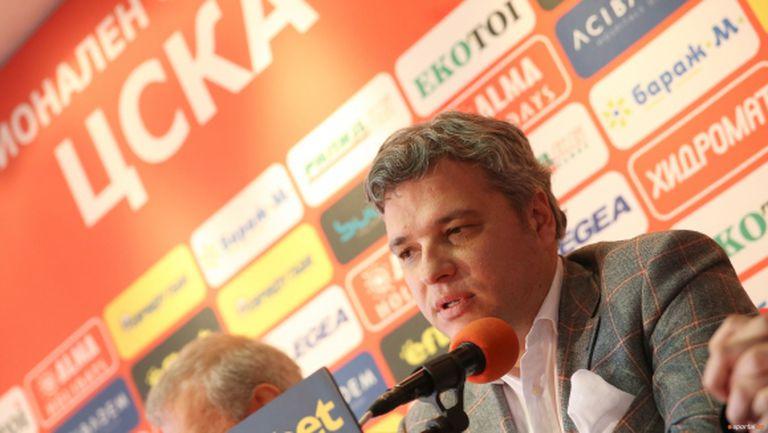 Манджуков разкри дълговете на ЦСКА
