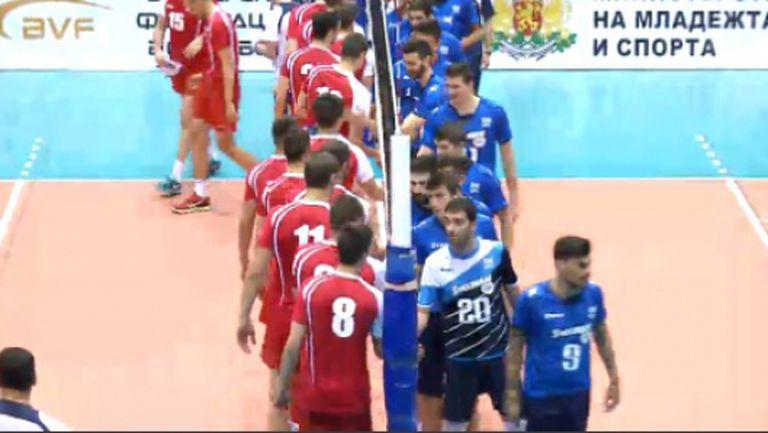 България победи Гърция с 3:0 в София (ВИДЕО)