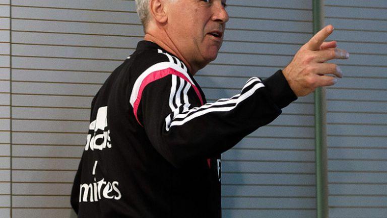 Анчелоти отряза Милан: Или в Реал, или ще си почивам