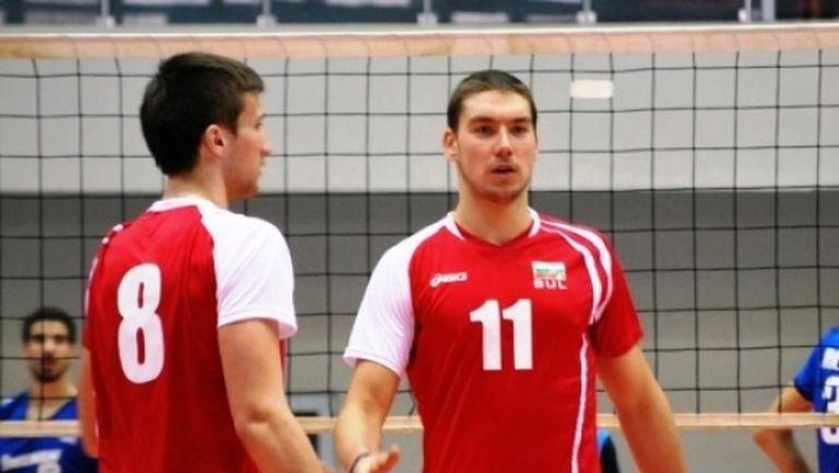 Велизар Чернокожев: Подготовката с мъжете е много голям плюс