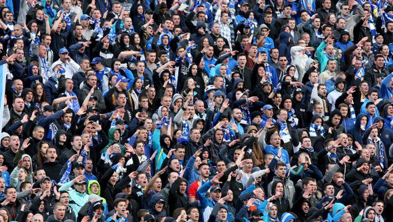 """""""Сините"""" продават по максимум 10 билета на човек за финала"""