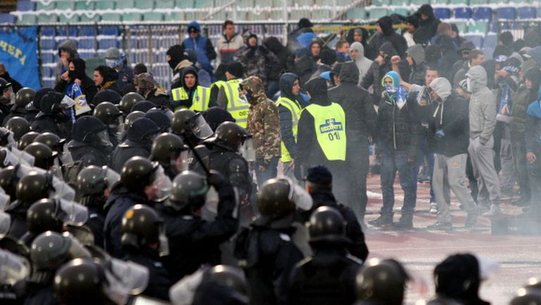 400 полицаи ще пазят финала в Бургас
