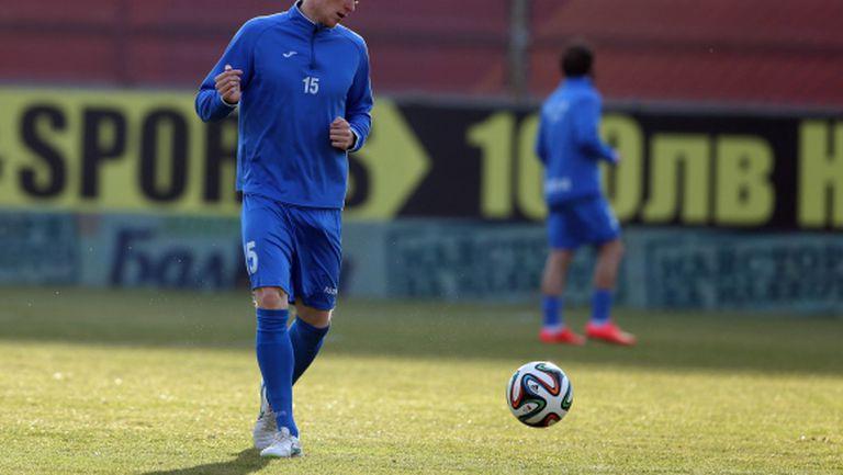 Прохазка тренира с Левски за Купата