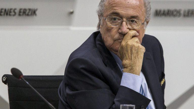 Блатер: ФИФА трябва да премине през тази буря