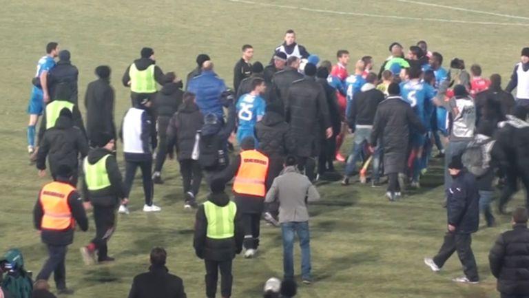 Бой след победата на Левски